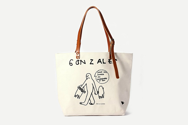 Image of Mark Gonzales by AVOID x Journal Standard Canvas Tote Bag