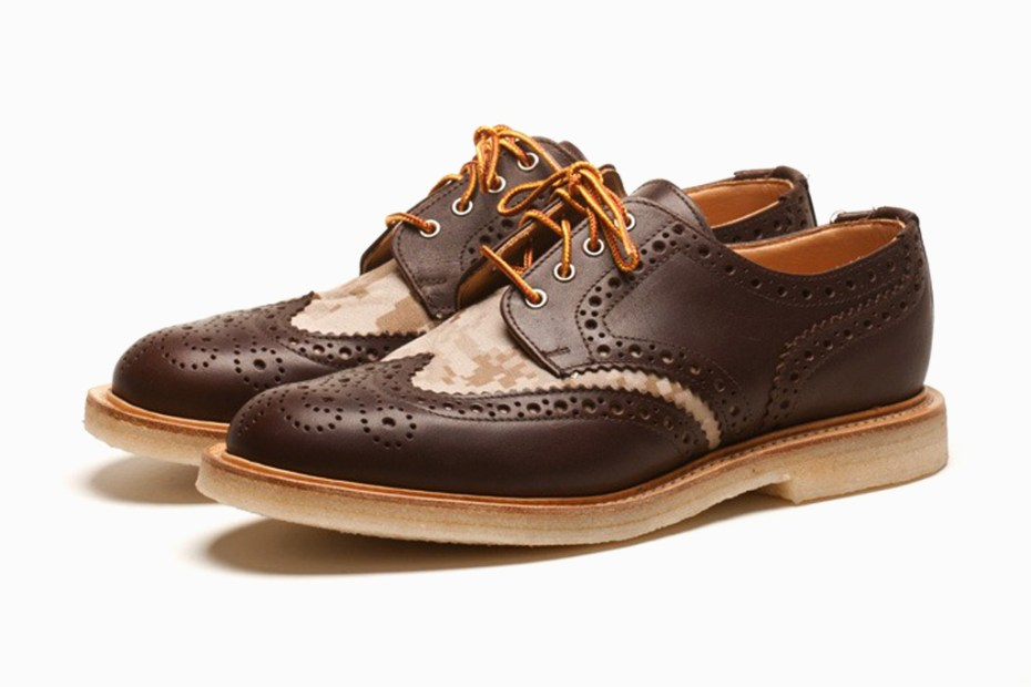 "Image of Mark McNairy ""Chocolate"" Country Brogue Shoes"