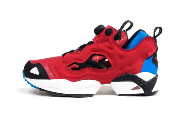 "Image of Marvel x Reebok INSTA PUMP FURY ""Spider-Man"""