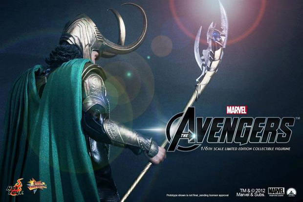 Image of Marvel's The Avengers x Hot Toys LOKI 1/6 Figure Teaser