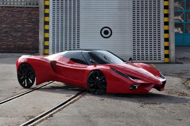 Image of Mimikcry Fahrradi Farfalla FFX Supercar