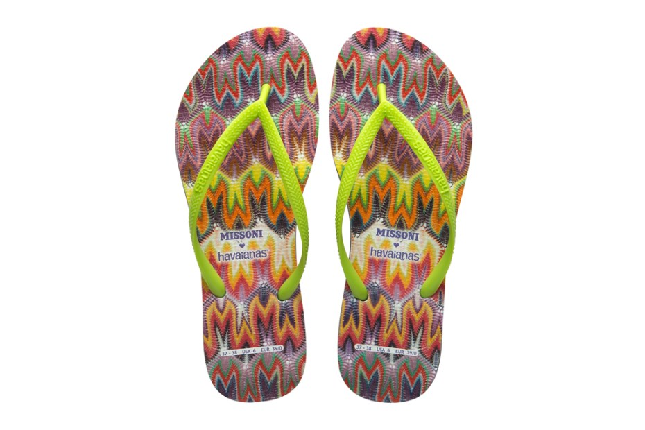 Image of Missoni x Havaianas 2012 Spring/Summer Capsule Collection
