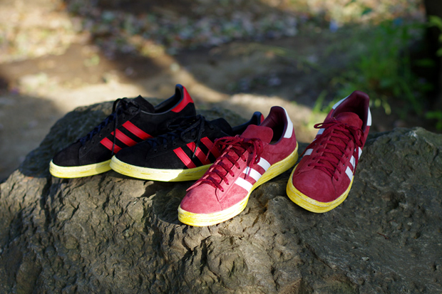 Image of mita x adidas Originals Campus 80s Pack Further Look
