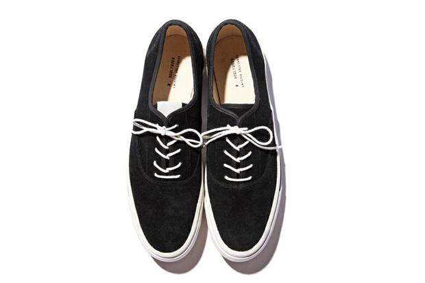 Image of N.HOOLYWOOD Suede Deck Shoes