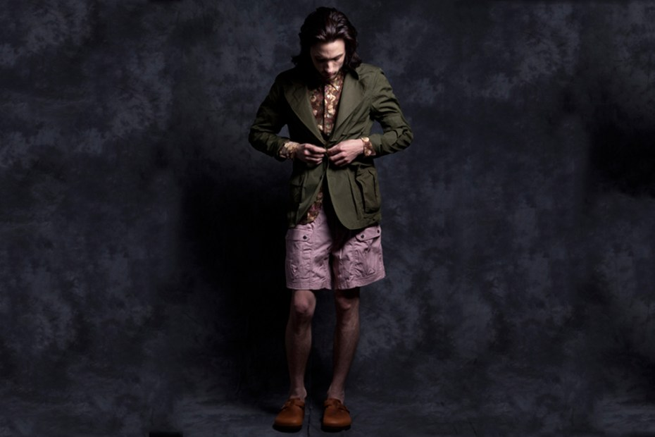 "Image of Nepenthes New York 2012 Spring/Summer ""Aaron"" Lookbook Part 1"