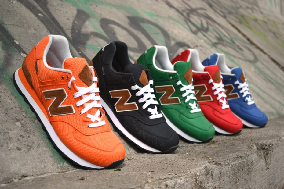 "Image of New Balance 2012 Fall M574 ""Backpack"" Collection"