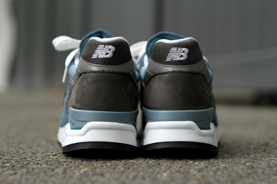 Image of New Balance 998 Blue Denim