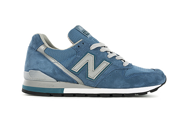 "Image of New Balance Made in USA M996 ""Blue Suede"""