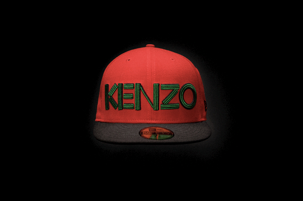 Image of KENZO x New Era Caps