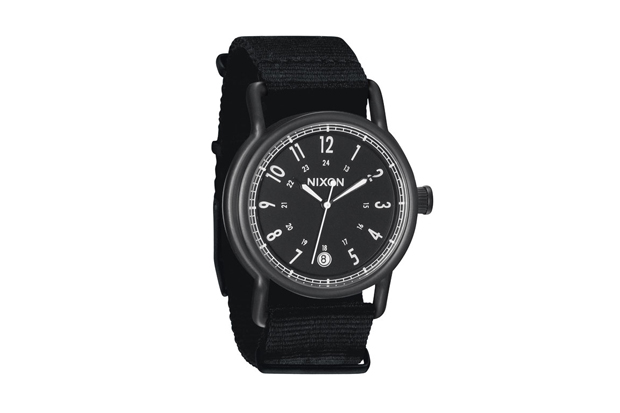 "Image of Nixon 2012 Spring/Summer ""Nylon: All Black' Summer"" Collection"
