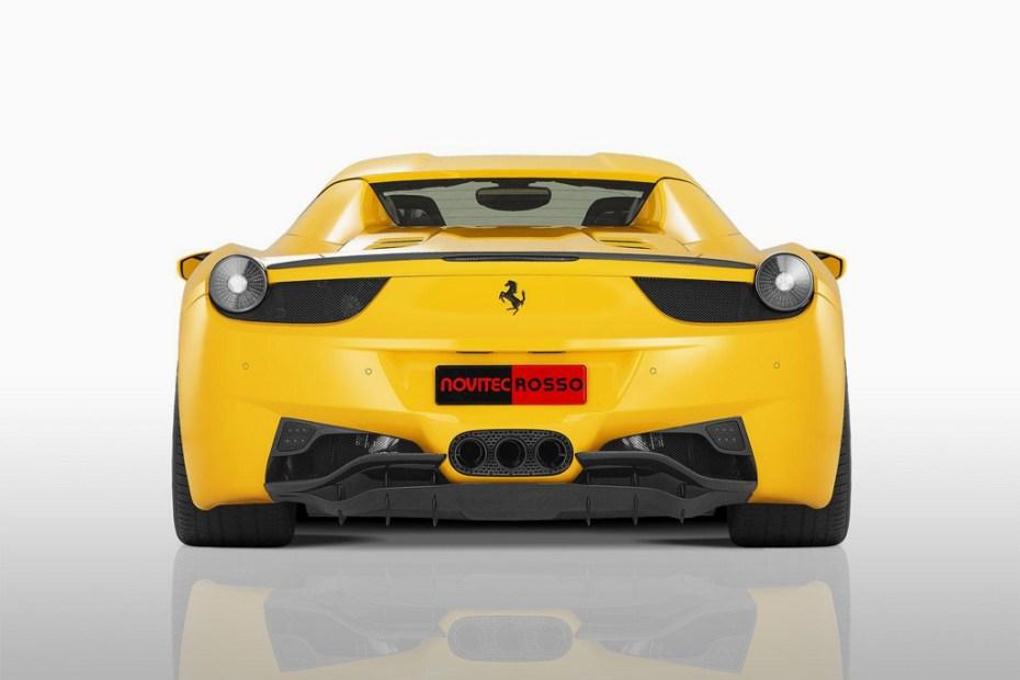Image of Novitec Rosso Ferrari 458 Spider