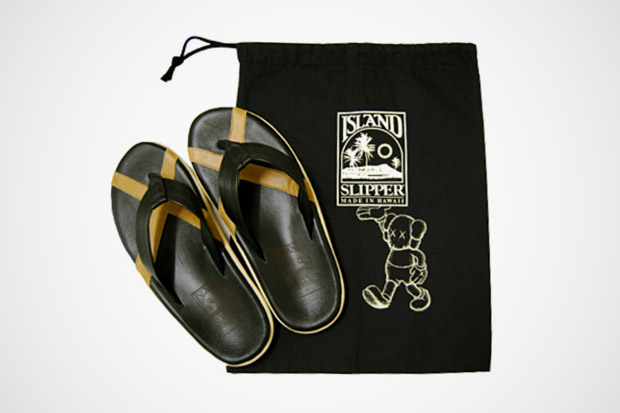 Image of OriginalFake x Island Slipper Leather Sandal