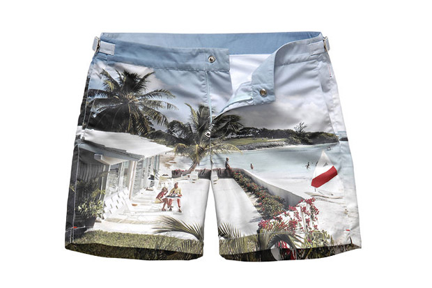 Image of Orlebar Brown Photorealistic Swim Trunks