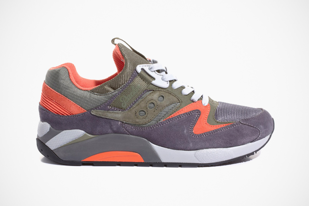 Image of Packer x Saucony Grid 9000 Trail Pack