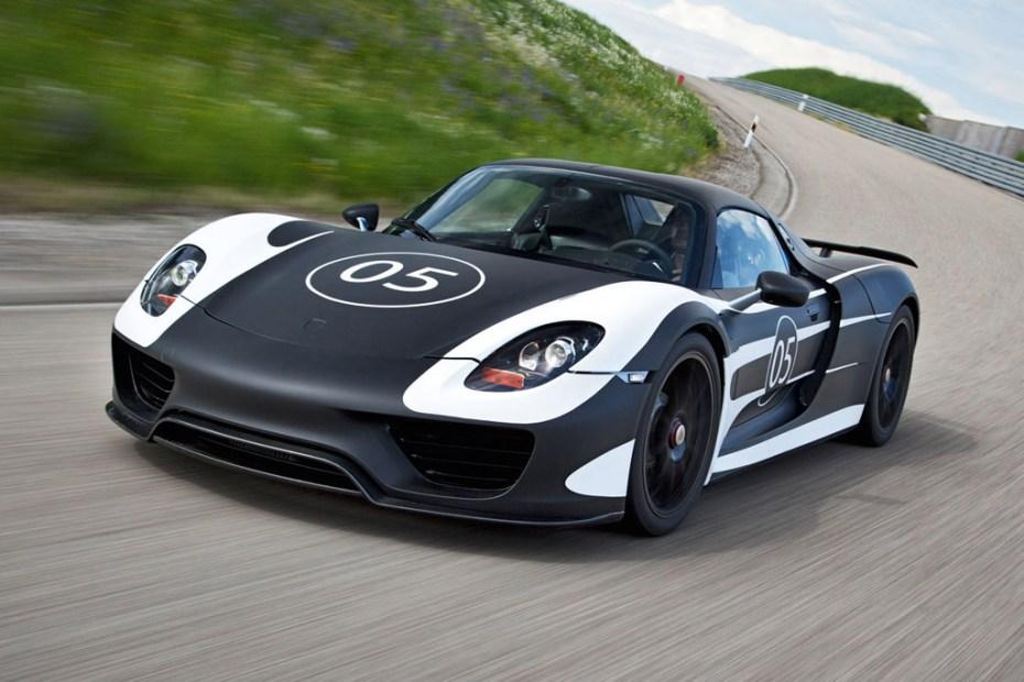 Image of Porsche 918 Spyder Prototype