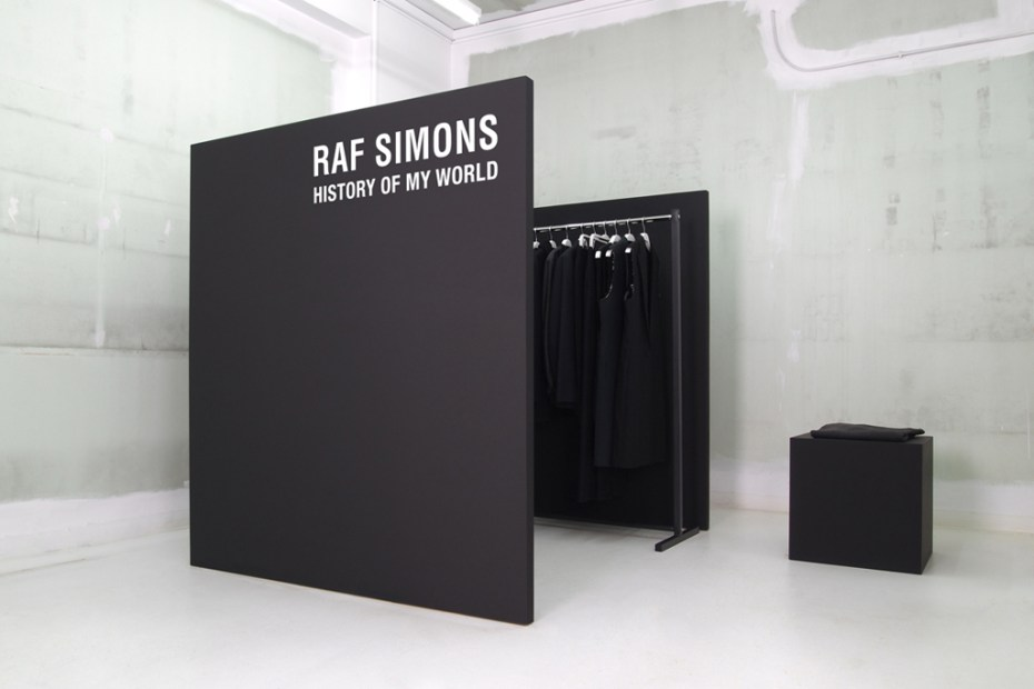 Image of Raf Simons: History of My World at NUMBER 3