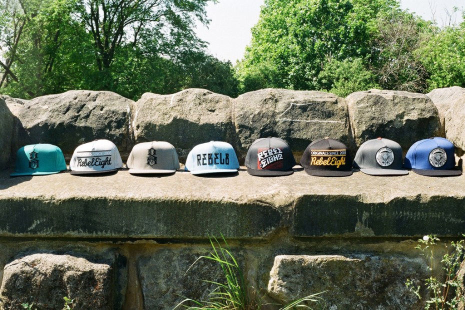 Image of REBEL8 2012 Spring/Summer Snapback Collection