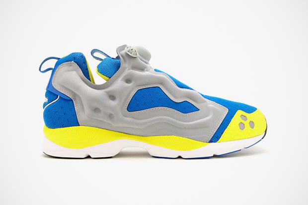 Image of Reebok 2012 Summer Insta Pump Fury HLS Grey/Blue/Yellow
