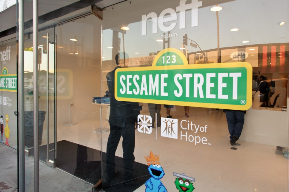 Image of Sesame Street Goes Street Art with The Seventh Letter