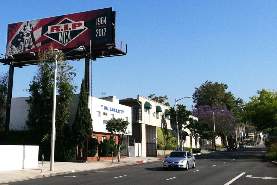 Image of Shepard Fairey x Glen E. Friedman MCA Tribute Billboards
