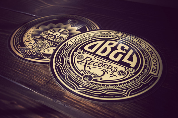 "Image of Shepard Fairey x Serato Vinyl Limited Edition Double 12"" Artist Series Pressing"