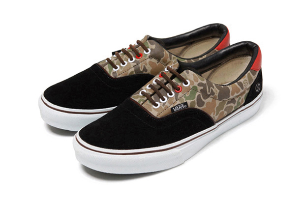 Image of Silas x Slam City Skates x Vans Era Camo