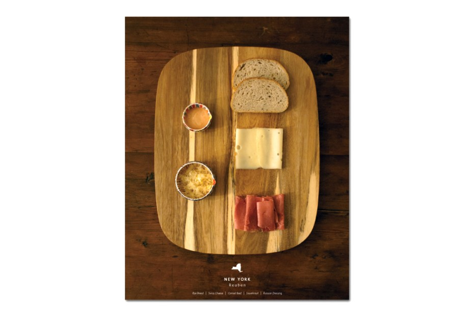 Image of Stately Sandwiches - Deconstructed Sandwiches From Each State