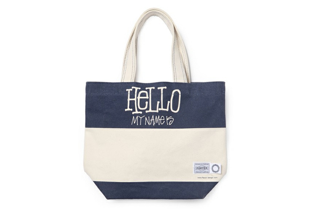 "Image of Stussy x FLAVOR. x Porter ""Hello"" Tote Bag"