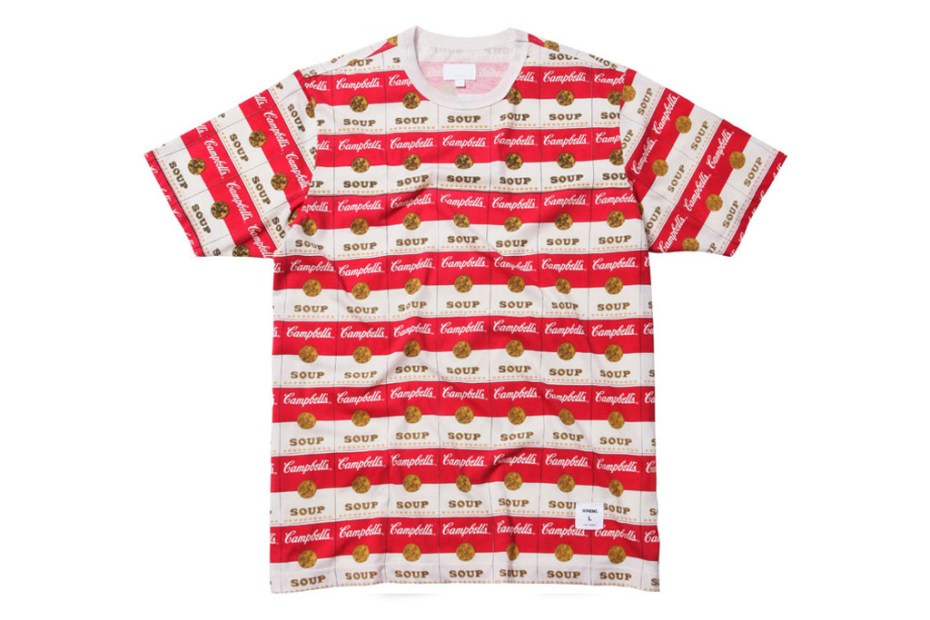 Image of Supreme x Campbell's Soup 2012 Capsule Collection
