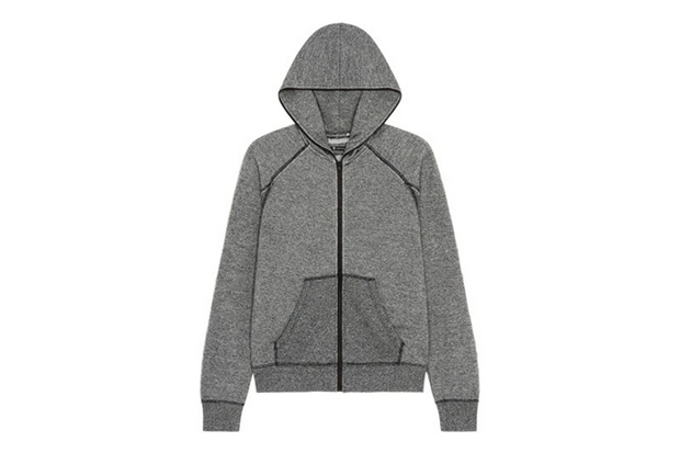 Image of T by Alexander Wang Zip-Up Hoodie