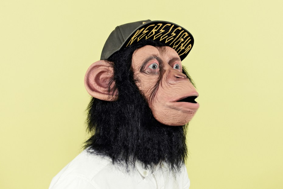 "Image of Chimp 2012 Summer ""The Chimp Who Would be Human"" Cap Lookbook"