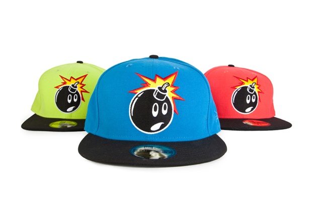 "Image of The Hundreds ""Fluorescent Adam"" New Era Caps"