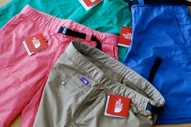 Image of THE NORTH FACE PURPLE LABEL 2012 Mountain Shorts