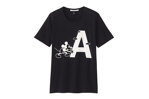 """Image of UNDERCOVER for Uniqlo """"UU"""" Disney T-Shirt Collection"""