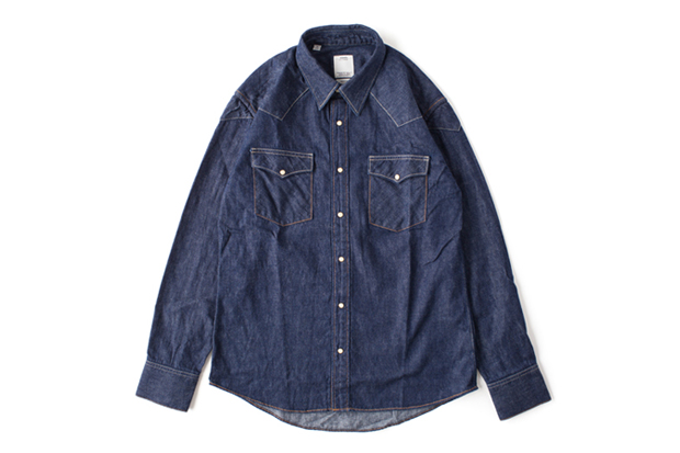 Image of visvim SS FOUR CORNERS SHIRT ONE WASH *F.I.L. EXCLUSIVE