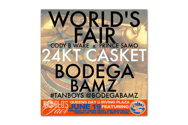 Image of World's Fair featuring Bodega Bamz - 24KT Casket