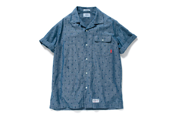 Image of WTAPS 2012 Spring/Summer Ernest Dot Chambray Shirt