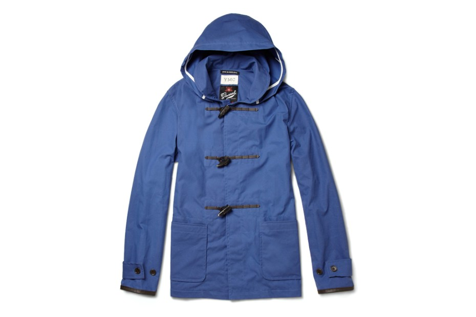 Image of YMC for MR PORTER 2012 Spring/Summer Gloverall Waxed-Cotton Duffle Jacket