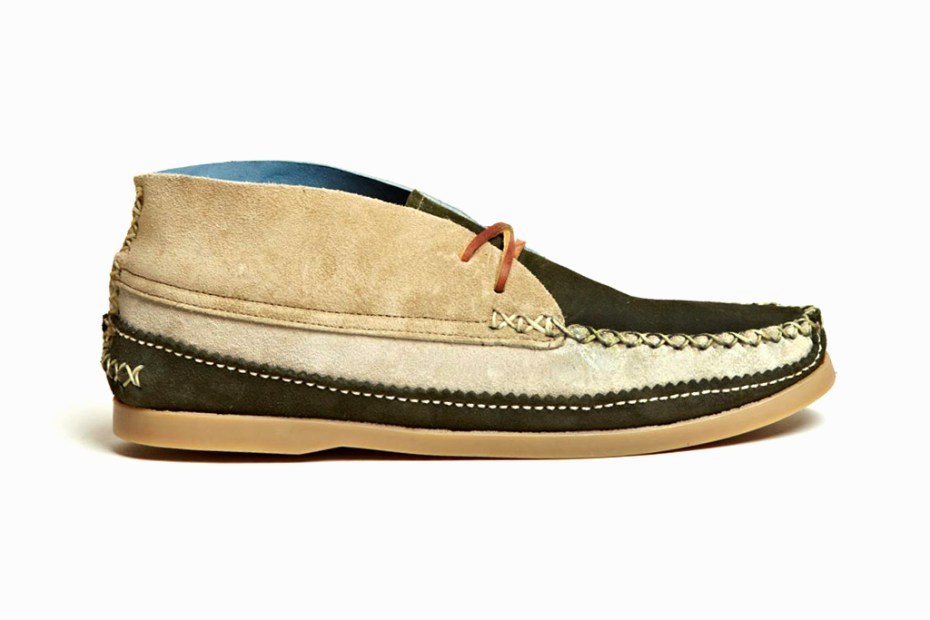 Image of Yuketen 2012 Spring/Summer Blue DB Mismatch Chukka 