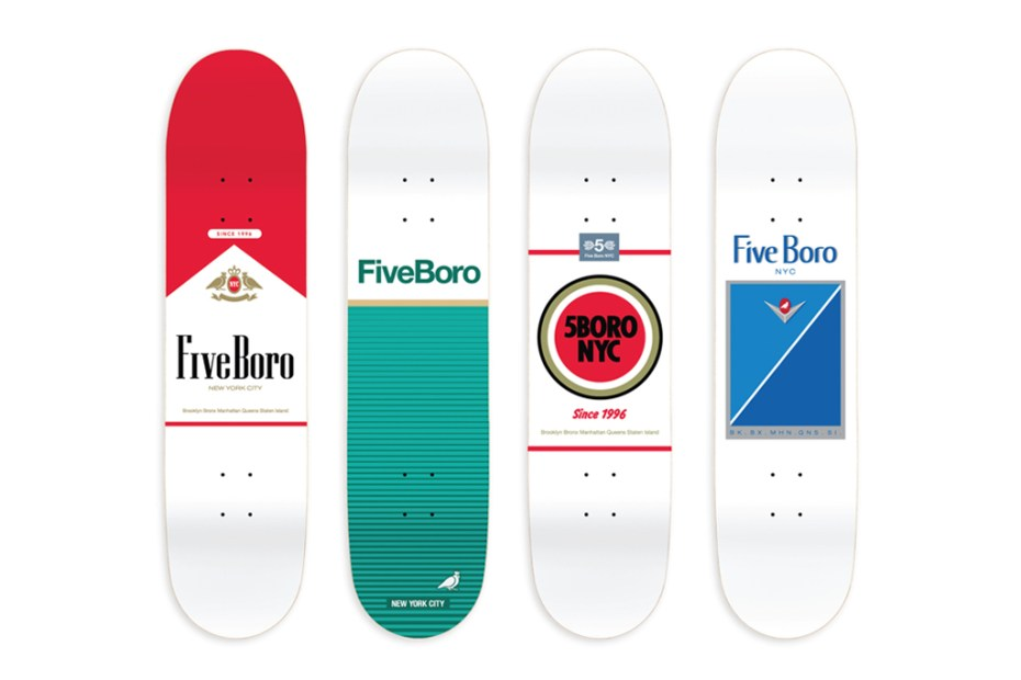 "Image of 5boro NYC ""Surgeon General"" Skateboard Decks"