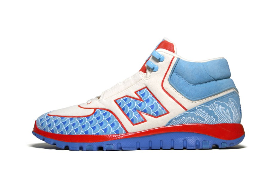 "Image of New Balance HS77 ""Dragon Boat Festival"" Bespoke by Zhijun Wang"