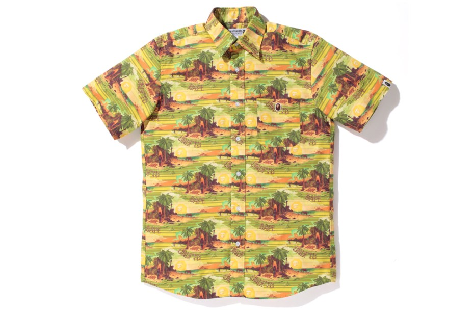 "Image of A Bathing Ape x Undefeated 2012 Spring/Summer ""Hawaiian"" Collection"