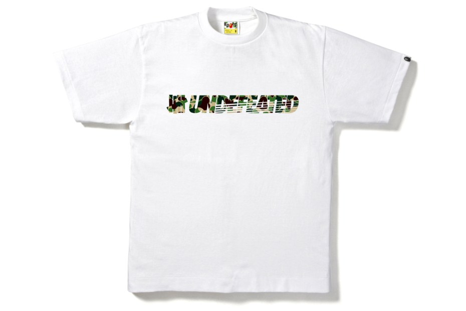 Image of A Bathing Ape x Undefeated 2012 Spring/Summer T-Shirt Collection