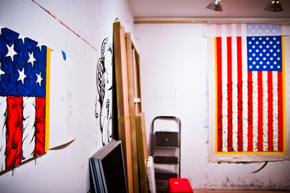 Image of A Studio Visit with Mark Dean Veca