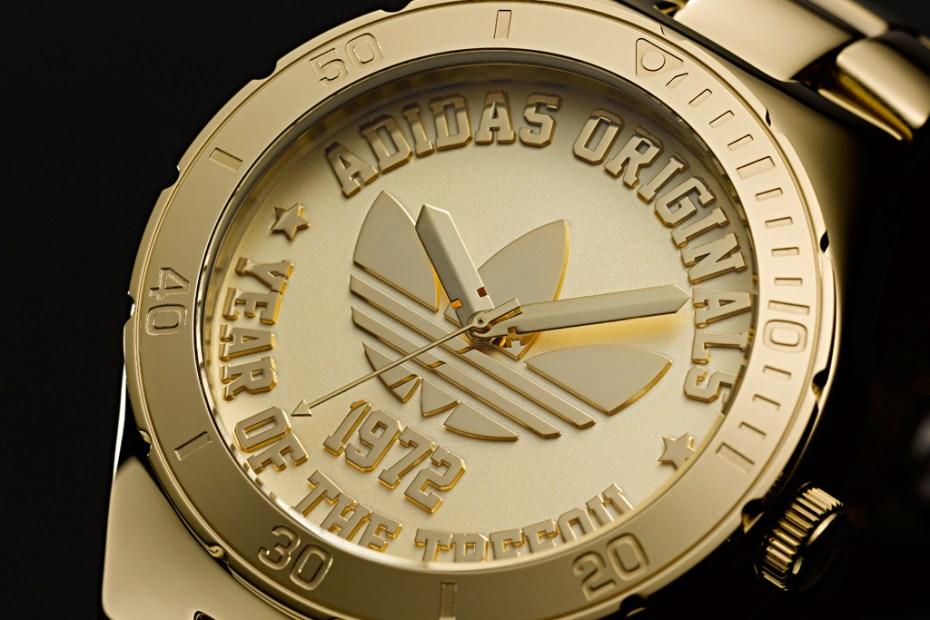 Image of adidas Originals 40th Anniversary Trefoil Watch