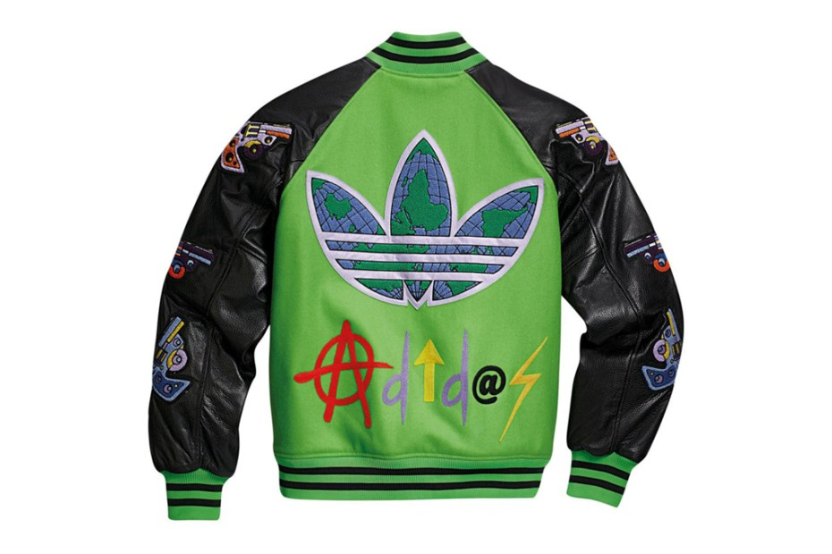 Image of adidas Originals by Jeremy Scott 2012 Fall/Winter JS Varsity Jacket