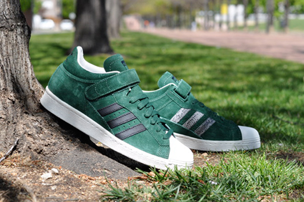 Image of adidas Originals PRO SHELL Dark Green