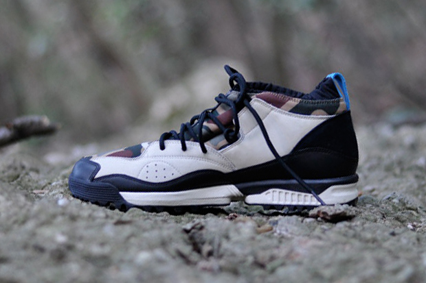 Image of adidas Originals Torsion Camo C.U. Neoprene/Nubuck