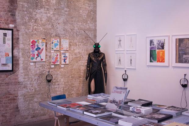 Image of agnès b. Musique Plastique Exhibition Recap