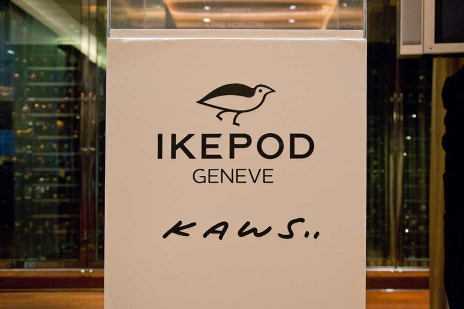 Image of Marc Newson-Designed IKEPOD Continues Momentum With Art Colab Watches